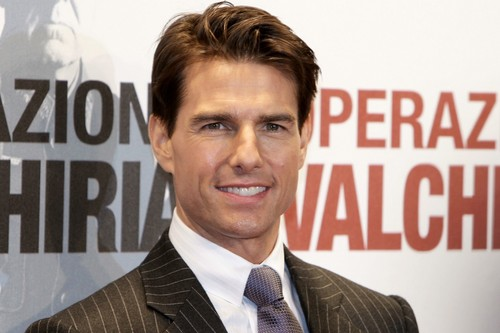 Tom Cruise wallpaper containing a business suit and a suit titled Tom Cruise Valkyrie Rome Premiere