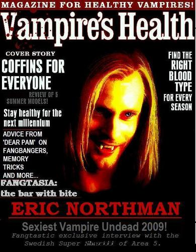 Vampire's Health Sexiest Vampire Undead Issue