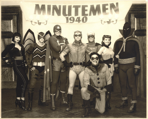 Watchmen Publicity تصاویر