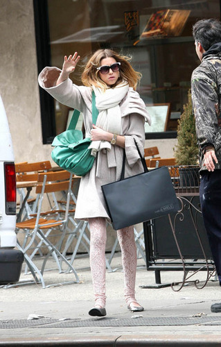 Whitney Out in NY