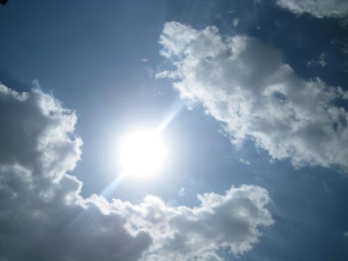 autmn cloudy sky