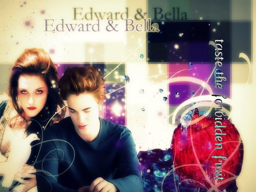 edward&bella taste the forbidden फल