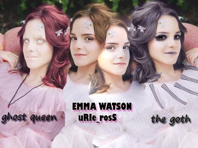 emma goth photoshop - Emma Watson 640x480