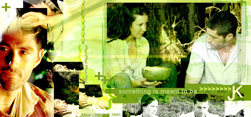 Jack and Kate fond d'écran possibly with a bouquet entitled jatw