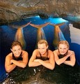 mermaids in pool  - h2o-just-add-water photo