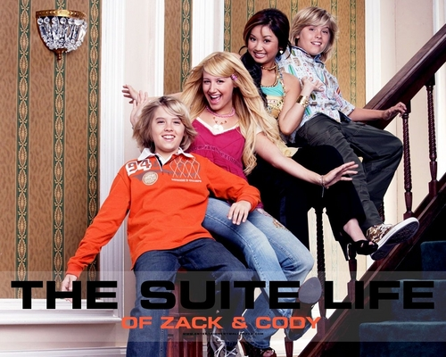 The Suite Life of Zack & Cody wallpaper probably containing a drawing room, a well dressed person, and a family room entitled suite