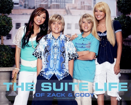 The Suite Life of Zack & Cody 바탕화면 called suite