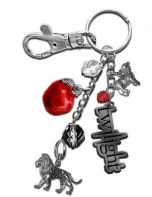 """Twilight"" Lion and agnello Keychain"