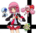Amu with Shugo Chara - shugo-chara fan art