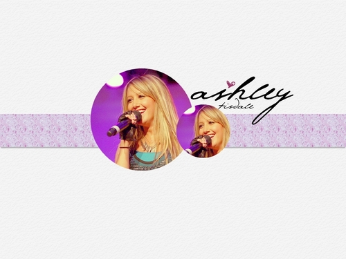 Ashley Tisdale Hintergrund titled Ashley