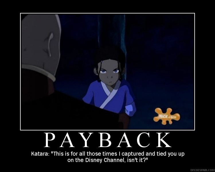 Avatar the last airbender katara tied up