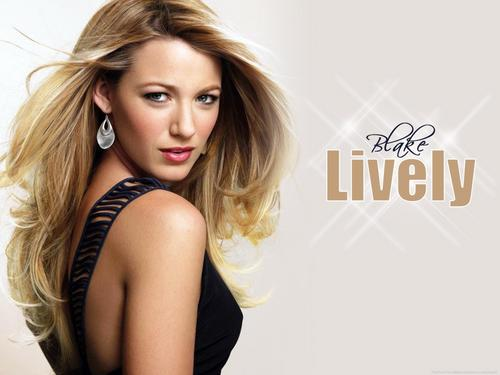 Blake Lively karatasi la kupamba ukuta with attractiveness, a portrait, and a bustier entitled Blake