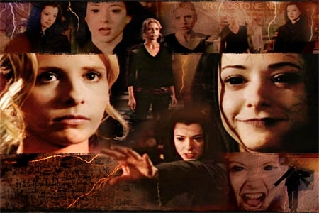 Buffy and Dark Willow
