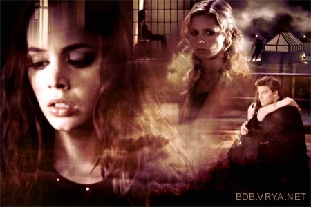 Buffy vs Faith wallpaper called Buffy and Faith
