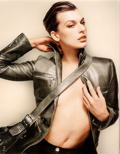 Milla Jovovich images Celine Photoshoot HD wallpaper and ...