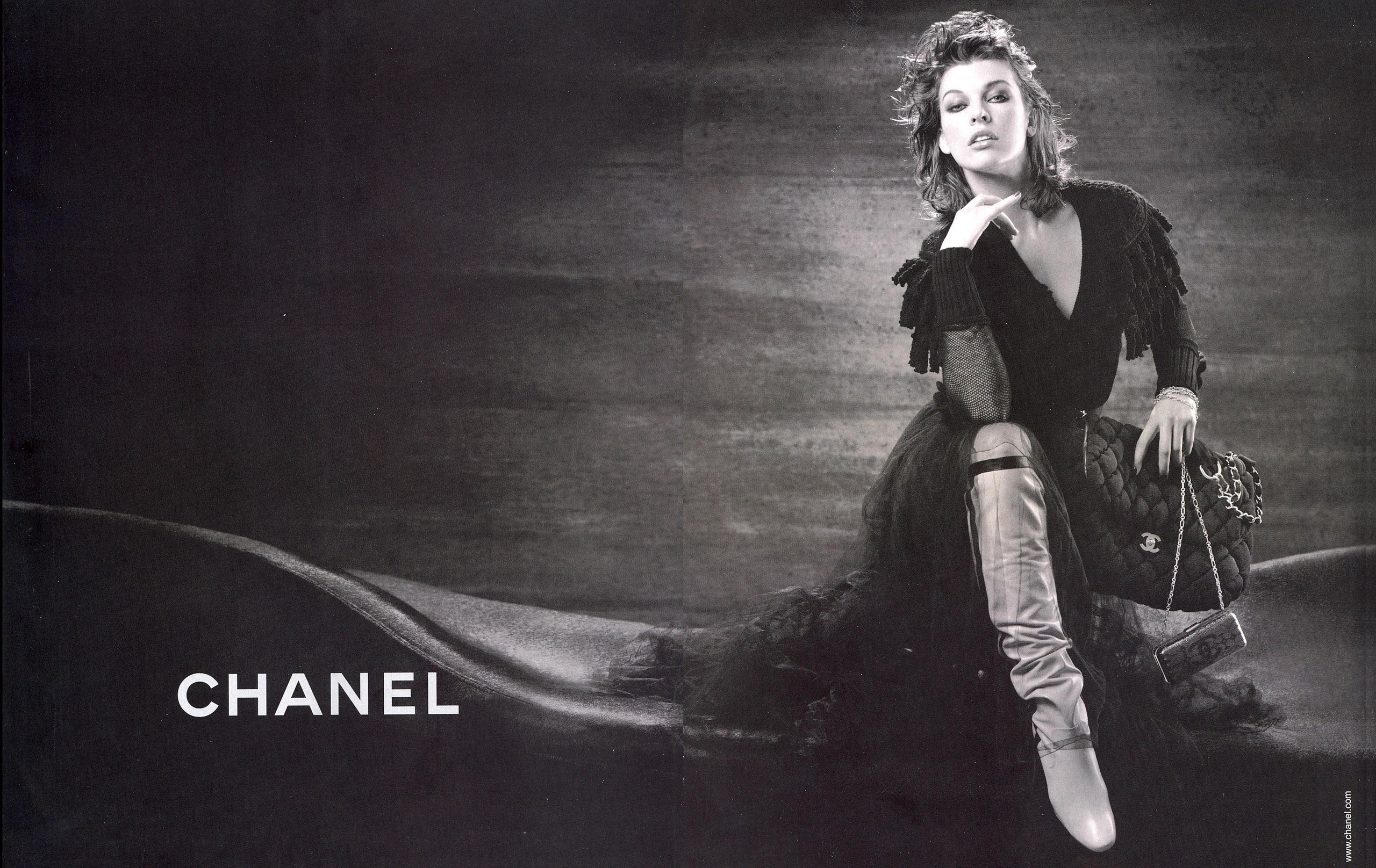 Chanel Vintage Fashion Photography