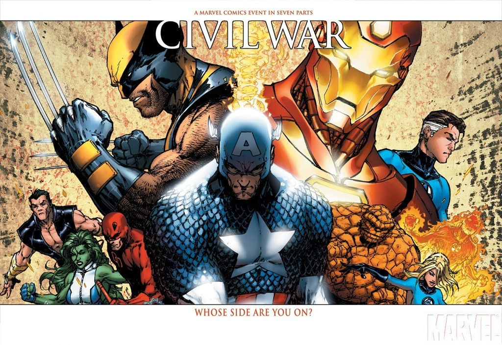 Marvel comics civil war