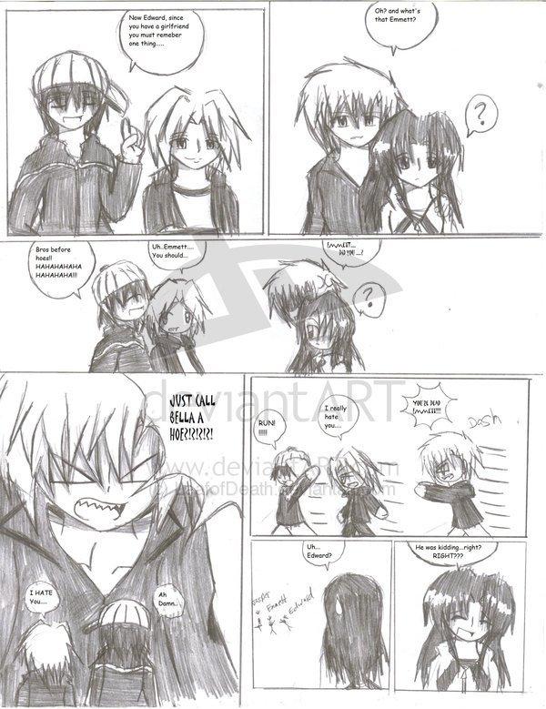 Comic-Fanmade - Twilight Fanfiction Fan Art (4265605) - Fanpop