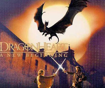 Dragonheart & Dragonheart 2 wallpaper possibly containing a sunset entitled Dragonheart 2