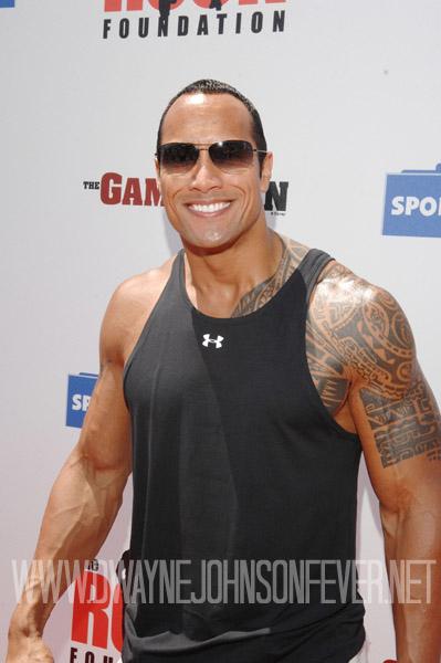 Rock Dwayne Johnson As