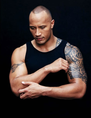 "Dwayne ""The Rock"" Johnson wallpaper entitled Dwayne <3"