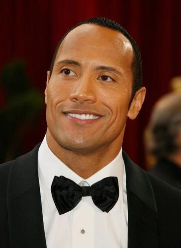 Dwayne At 80th Annual Academy Awards.