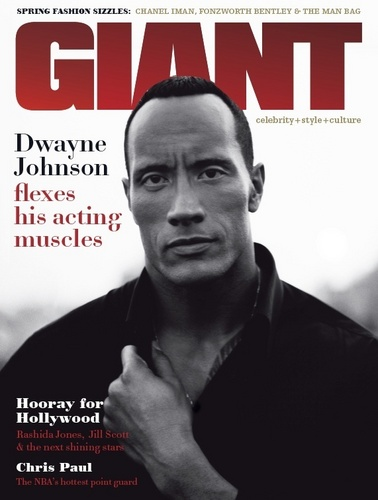 Dwayne Photoshoot For Giant Magazine.