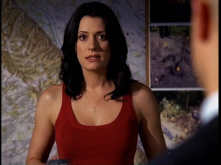 Emily Prentiss 壁纸 possibly with a bustier, attractiveness, and a chemise entitled Emily Prentiss