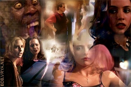 Faith and buffy