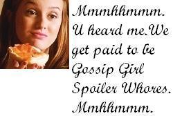 Gossip Girl Spoiler Whores 壁纸 with a portrait titled GGSW
