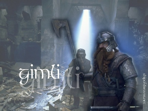 Gimli - lord-of-the-rings Wallpaper