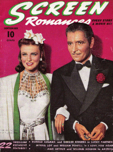 Ginger Rogers & Ronald Colman