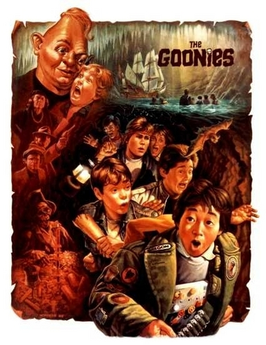 The Goonies wallpaper possibly containing anime called Goonies
