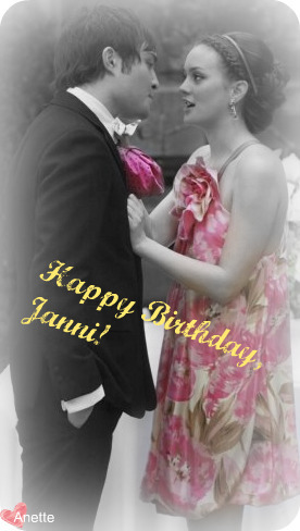 Happy Birthday, Janni!