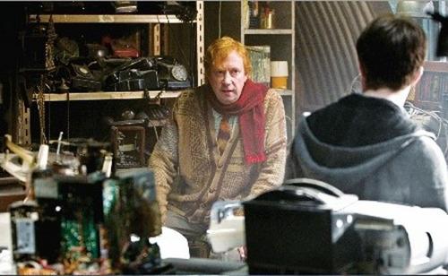 Harry & Mr.Arthur Weasley
