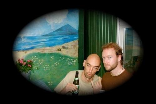 Jeroen and Rudd drunk