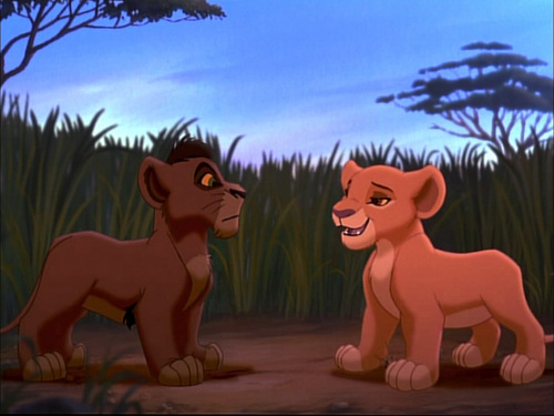 Kiara &amp; Kovu - the-lion-king-2-simbas-pride Photo