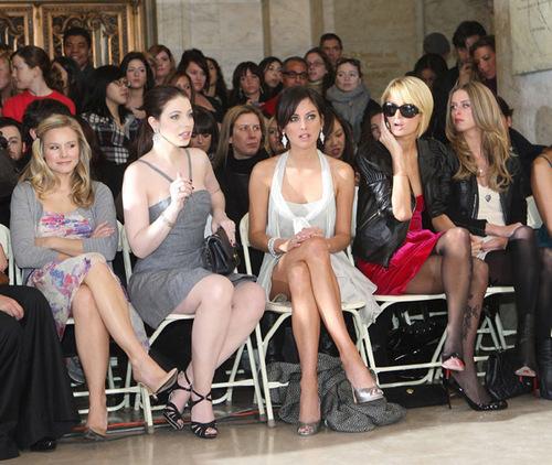 Kristen at Fashion Week