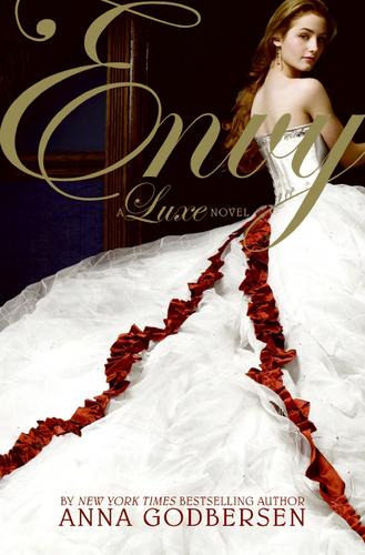 Laura Flemming cover model for Anna Godbersen book ENVY