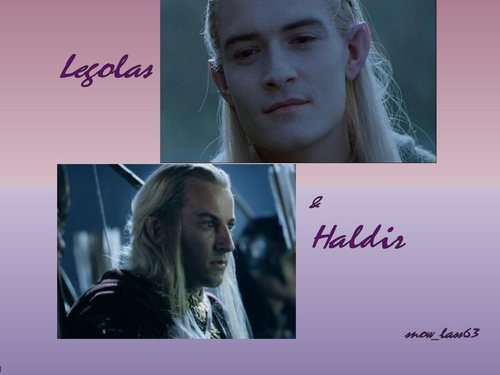 Legolas and Haldir