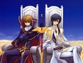 Lelouch and Suzaku - code-geass photo