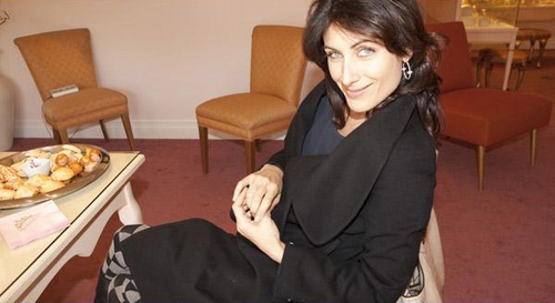 Lisa @ Erica Courtney Drop Dead Gorgeous Jewelry Oscar Gift Suite