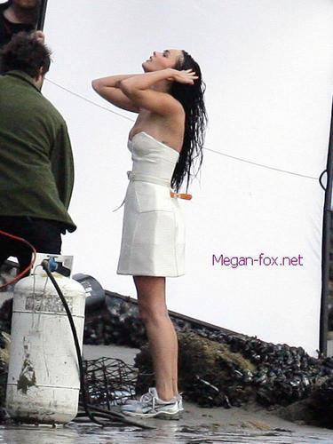 Megan BTS Photoshoot