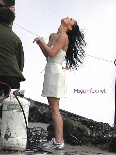 Megan BTS Photoshoot
