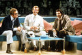 Michael, Roger Moore and Burt Reynolds