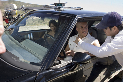 Michelle & Vin in Fast & Furious
