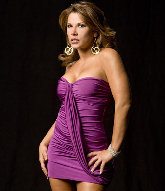 Mickie James Обои possibly containing a bustier, a коктейль dress, and a maillot entitled Mickie James