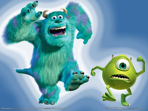 Mike and Sulley - monsters-inc Wallpaper