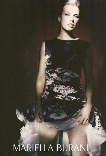 Milla Modeling for Mariella Burani