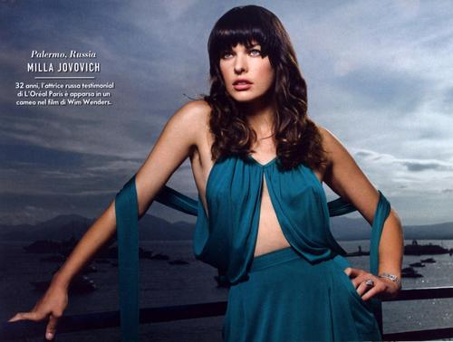 Milla in Vanity Fair